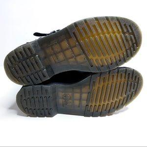 Dr. Martens Shoes - Dr. Martens VI Biker Patent Lamper Boots Size 8